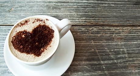 Café com mulher